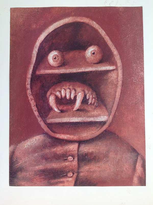 Картина Андрея Шелютто
