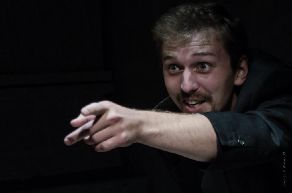 """Репетиция пьесы Артура Соломонова """"Благодать"""""""