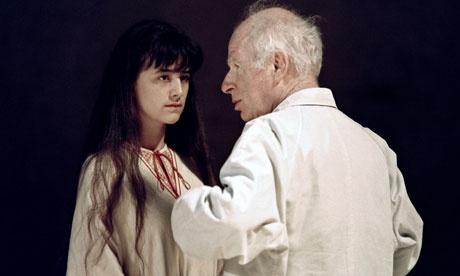 "Питер Брук на репетиции ""Бури"". 1991 год."