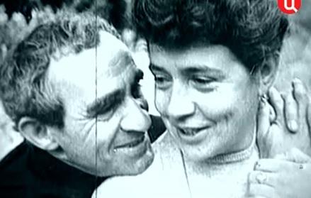 Зиновий Гердт и Татьяна Правдина